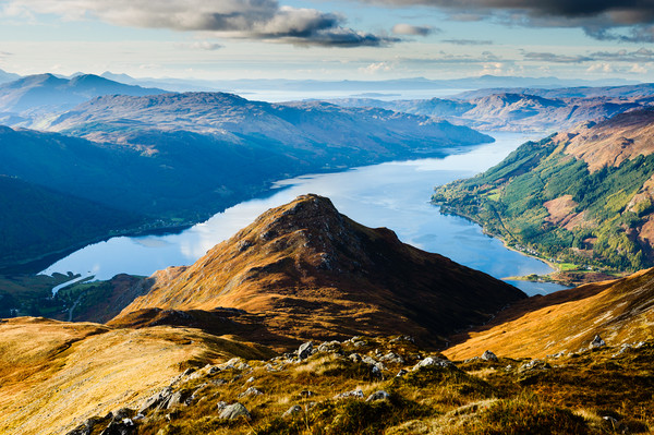 Loch Duich Canvas Print by Mark Greenwood