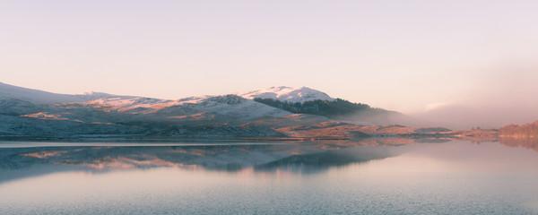 Loch a' Chuilinn, near Achnasheen Canvas Print by Mark Greenwood