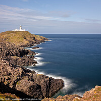 Buy canvas prints of Strumble Head Lighthouse by Bruce Little