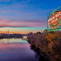 Buy canvas prints of Beer On The Mississippi by Jim Hughes