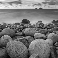 Buy canvas prints of The Brisons, Porth Nanven by Steve Mundy