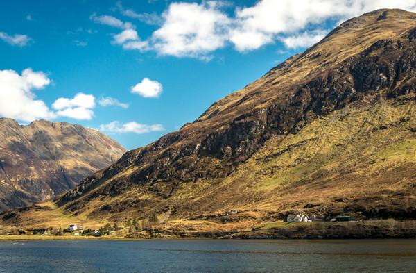 Highland Landscape Canvas print by Tony Bishop