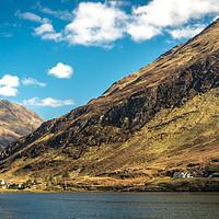 Buy canvas prints of Highland Landscape by Tony Bishop