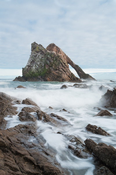Bow Fiddle Rock Canvas print by Tony Bishop