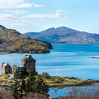 Buy canvas prints of Eilean Donan Castle by Tony Bishop