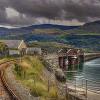 Buy canvas prints of Barmouth Bridge by  Catchavista