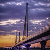 Buy canvas prints of Mersey gateway by Kevin Elias