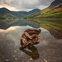 Buy canvas prints of Buttermere lake by Kevin Elias