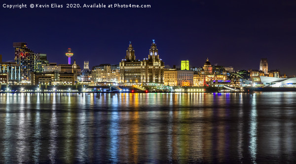LIVERPOOL WATERFRONT Canvas Print by Kevin Elias