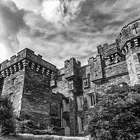 Buy canvas prints of Wray castle by Kevin Elias