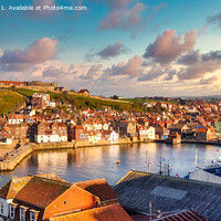 Buy canvas prints of Whitby  by Kevin Elias