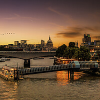 Buy canvas prints of Southbank  by Kevin Elias