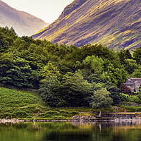 Buy canvas prints of Buttermere shores by Kevin Elias
