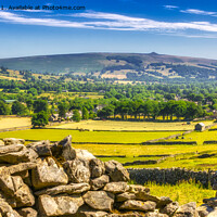 Buy canvas prints of Castleton view by Kevin Elias