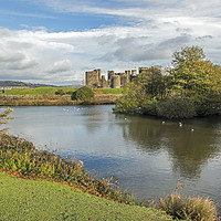 Buy canvas prints of Caerphilly Castle  by Nick Jenkins