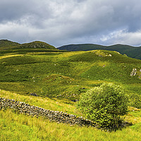 Buy canvas prints of Troutbeck Valley Lake District Cumbria by Nick Jenkins