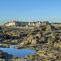 Buy canvas prints of Porthcawl, a busy town on the south Wales coast and popular with visitors. by Nick Jenkins