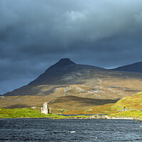 Buy canvas prints of Ardvreck Castle on Loch Assynt, Scottish Highlands by Nick Jenkins