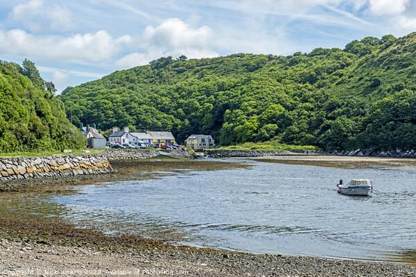 Solva on the Pembrokeshire Coast West Wales Acrylic by Nick Jenkins