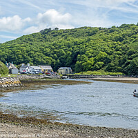Buy canvas prints of Solva on the Pembrokeshire Coast West Wales by Nick Jenkins