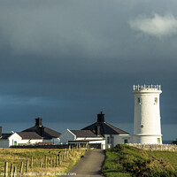 Buy canvas prints of Nash Point Old Lighthouse on the Glamorgan Heritage Coast by Nick Jenkins
