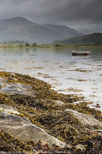 Holy Loch, Scotland Framed Print by Heidi Stewart
