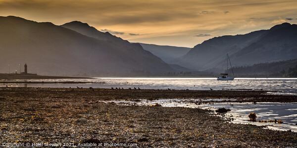Holy Loch Scotland Print by Heidi Stewart