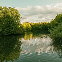 Buy canvas prints of Middle Pool by simon alun hark