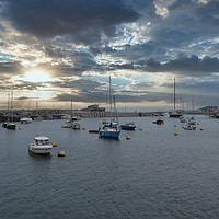Buy canvas prints of Rhyl Harbour  by simon alun hark