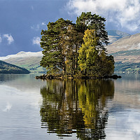 Buy canvas prints of Loch Tay by Matt Johnston