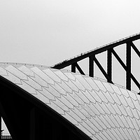 Buy canvas prints of Sydney Opera House and Bridge by Colin Woods