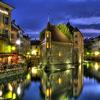 Buy canvas prints of The Old Prison at Annecy by Colin Woods