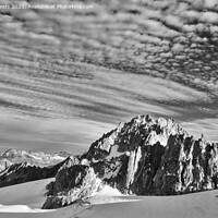 Buy canvas prints of The Aiguille de Tour in the French Alps by Colin Woods