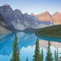 Buy canvas prints of Moraine Lake, Banff National Park, Canada by Arterra