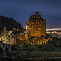 Buy canvas prints of Eilean Donan Castle, Scottish Highlands by Arterra