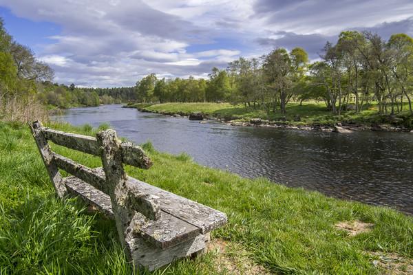 River Spey, Scotland Canvas Print by Arterra