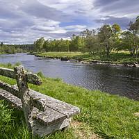 Buy canvas prints of River Spey, Scotland by Arterra