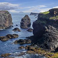Buy canvas prints of Walkers at Eshaness, Shetland Isles, Scotland by Arterra
