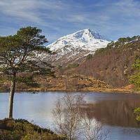 Buy canvas prints of Loch Affric, Scotland by Arterra