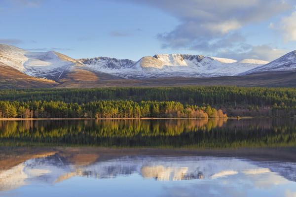 Loch Morlich, Scotland Canvas print by Arterra