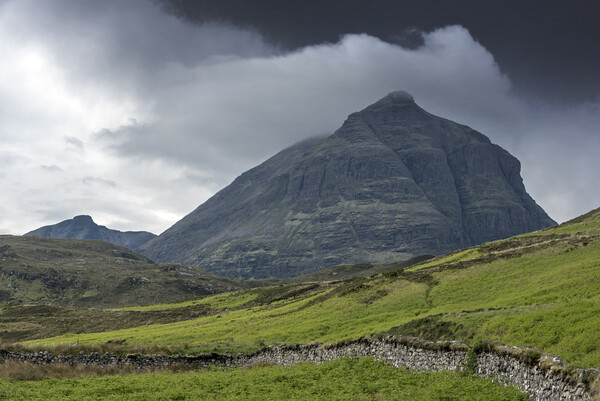 Sàil Gharb, one of Quinag's summits, Scotland Canvas Print by Arterra