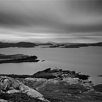 Buy canvas prints of The Summer Isles From Meall Dearg by Jim Round