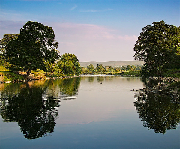 River Wharfe, Bolton Abbey Canvas print by Jim Round