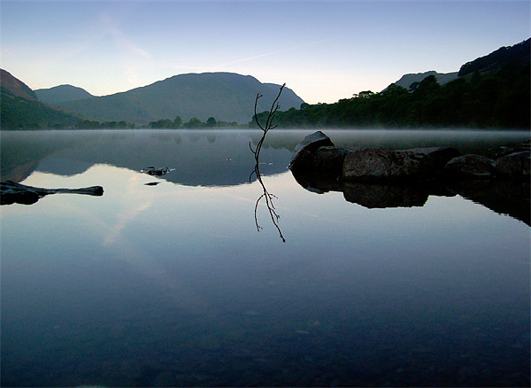 Buttermere Lake, Lake District Canvas print by Jim Round