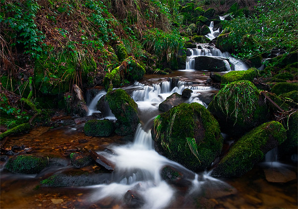Hebers Ghyll Canvas print by Jim Round
