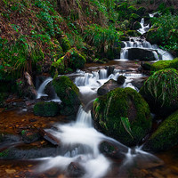 Buy canvas prints of Hebers Ghyll by Jim Round