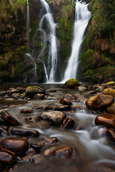 Posforth Ghyll, Bolton Abbey, Yorkshire Dales Canvas print by Jim Round
