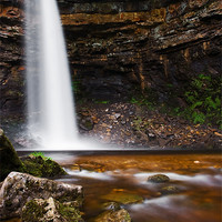 Buy canvas prints of Hardraw Force, Yorkshire Dales by Jim Round