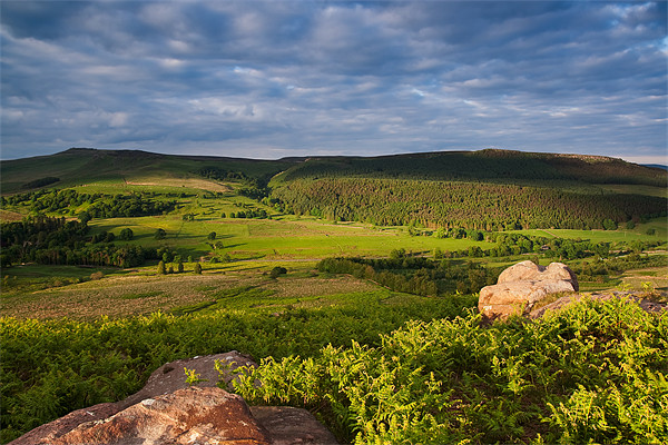 Barden Moor From Rough Haw Canvas print by Jim Round