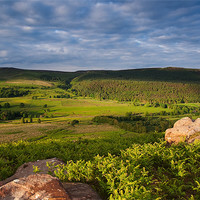 Buy canvas prints of Barden Moor From Rough Haw by Jim Round